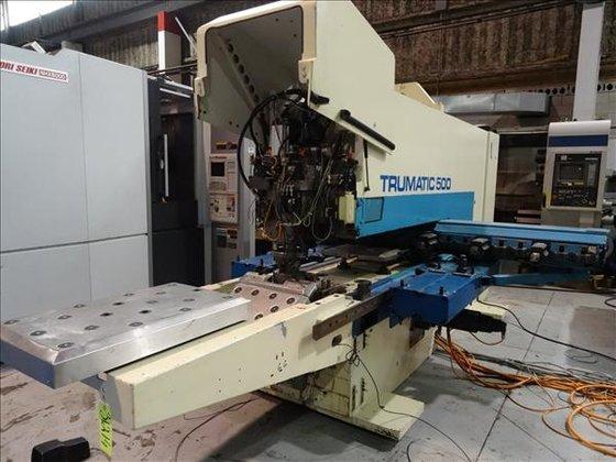 TRUMPF TRUMATIC TC500 CNC TURRET