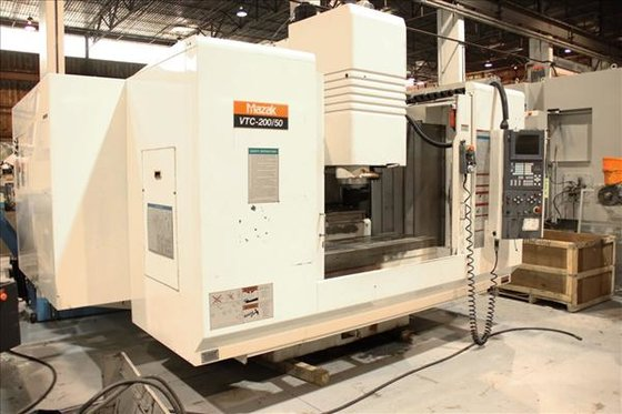 MAZAK VTC-200/50 CNC VERTICAL MACHINING