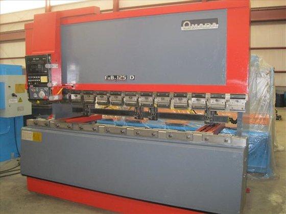 AMADA FBD-1253E 3-AXIS CNC PRESS