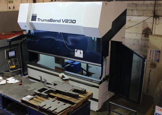 TRUMPF TRUMABEND V230X 8-AXIS CNC