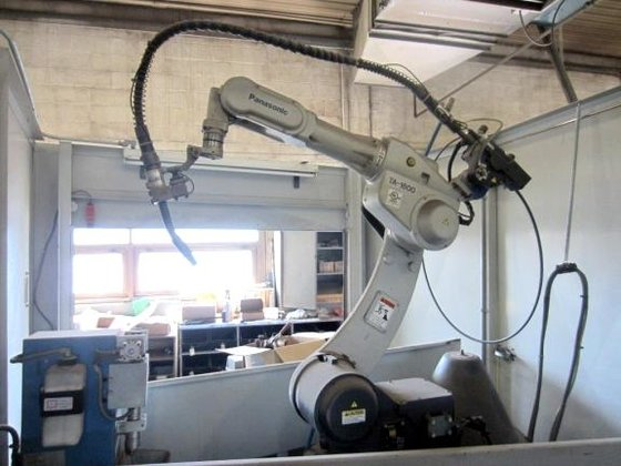 PANASONIC ARS-1602 6-AXIS ROBOTIC WELDING