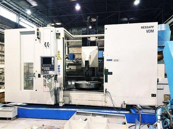 HESSAPP VDM 1200-11 CNC VERTICAL