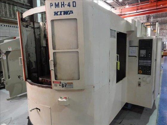 KIWA PMH-40 CNC HORIZONTAL MACHINING