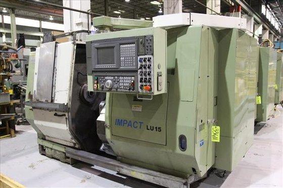 OKUMA IMPACT LU15 CNC LATHE