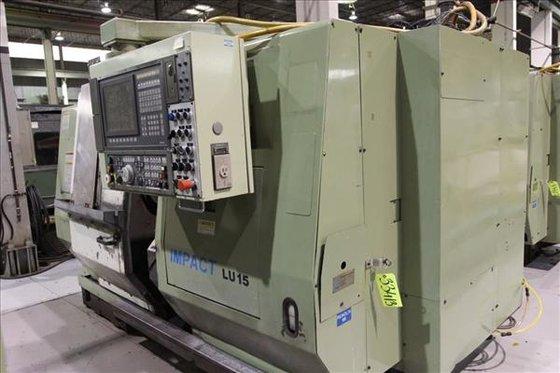 1995 OKUMA LU15 IMPACT CNC