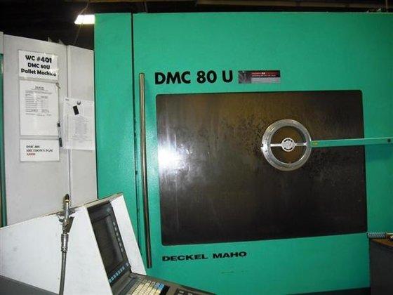 1999 DECKEL DMC 80 U