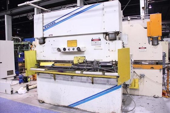 1998 WYSONG THS140-96 HYDRAULIC PRESS