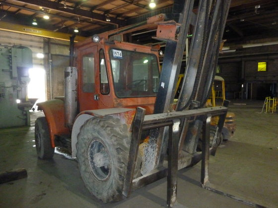 12,000 LBS., HYSTER, FORKLIFT, NO.