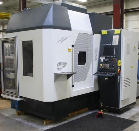 Haas, Multigrind HT, 5-Axis, CBN,