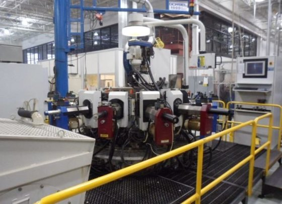 Hydromat, No. HS25-12, 12-Station CNC