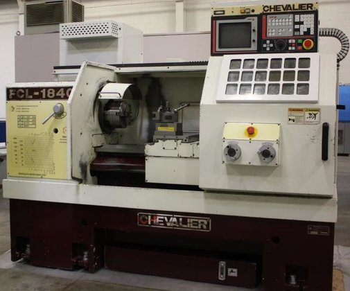 "Chevalier FCL-1840,18"" x 40"",FAGOR CNC,33-3100RPM,"