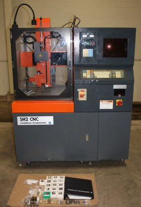 "1995 Charmilles,SH2 CNC,0.3-3.0 MM,Electrode,R-Axis,30 Amp.,X-8"",Y-12"",Z-12"",W-9"""