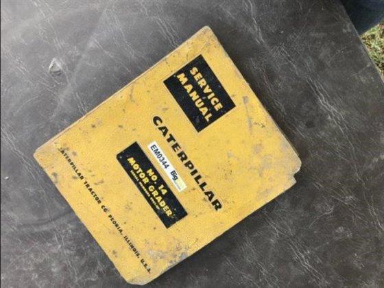 caterpillar no 14 motor grader service manual in goff ks usa rh machinio com Cat Skid Steer Cat Skid Steer