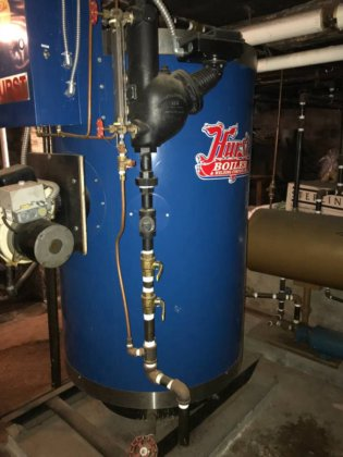 Hurst High Pressure Boiler 15 HP like new! in New Jersey, USA