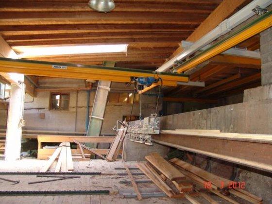 2009 Abus ZHB Conveyors, Storage