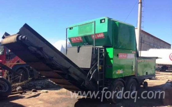 2004 JENZ AZ660 Chipper-Canter Romania