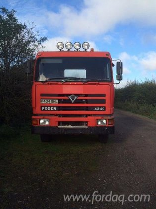 1997 Foden Longlog Truck Romania