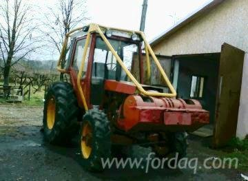 Forest Tractor Romania in Lunca,