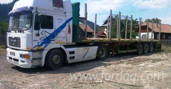 Man Longlog Truck Romania in