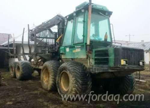 timberjack Forwarder in Romania in
