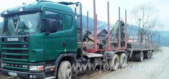 2001 Scania Longlog Truc -