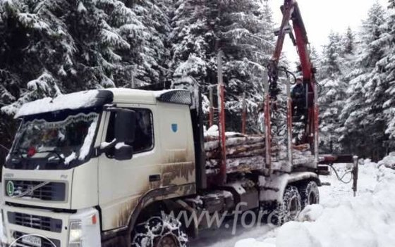2006 Short Log Truck Romania