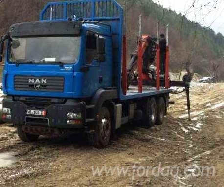 2008 Longlog Truck in Romania
