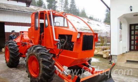 Articulated Skidder Romania 40 000