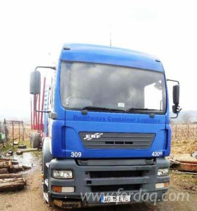 2003 Man Longlog Truck Romania