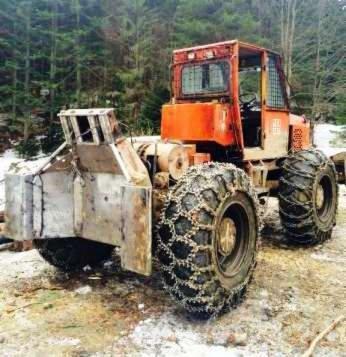 Forest Tractor Romania in Cajvana,