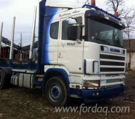 2003 scania Short Log Truck
