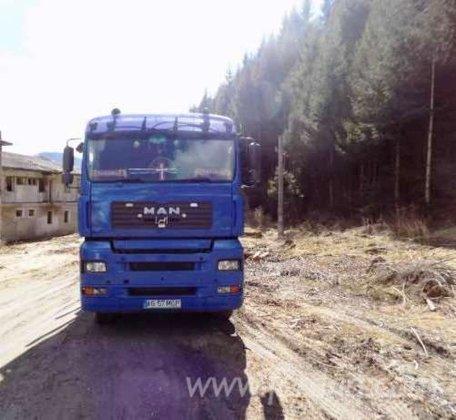 2002 man Longlog Truck Romania