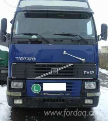 Volvo Short Log Truck Romania
