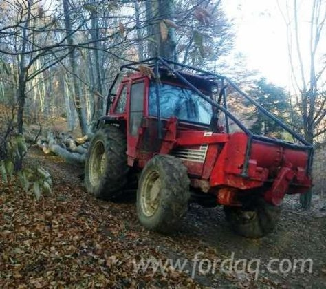Fiat Forest Tractor in Romania