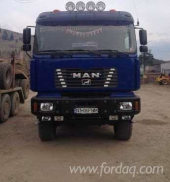 Longlog Truck in Romania in