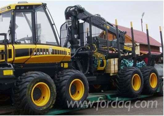 2008 Ponsse Forwarder Romania in