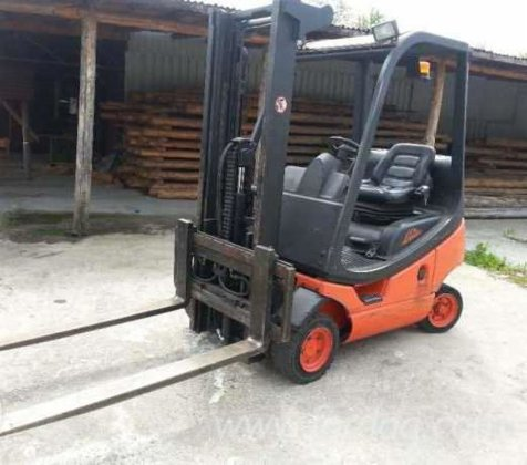 linde Front Stacker Romania in