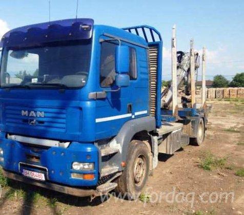 2005 man Longlog Truck Romania