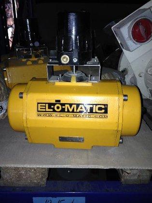 2012 El-o-matic ES0350H1A04A00N0 Pneumatic actuator
