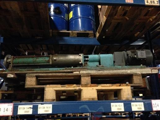 Stork 2RI50D Eccentric spiral pumps