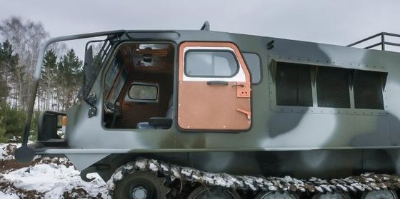 2014 Amphibious all-terrain ve TGM-126-2