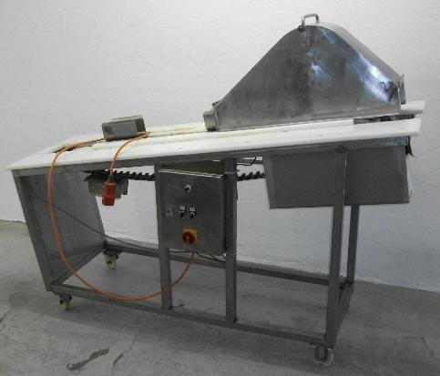 Portion divider, chicken cutting machine