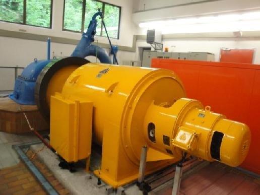 Francis 440 kW/250 kW turbines