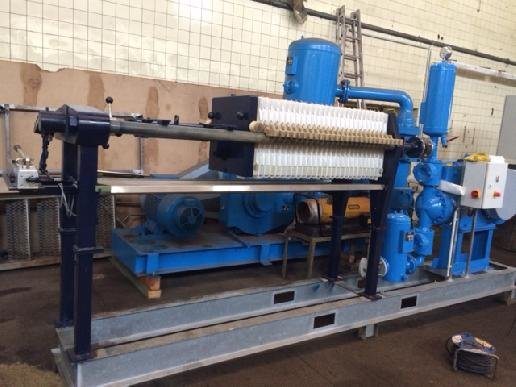 Anlagenbau-REWA 470/20 Dewatering equipment in