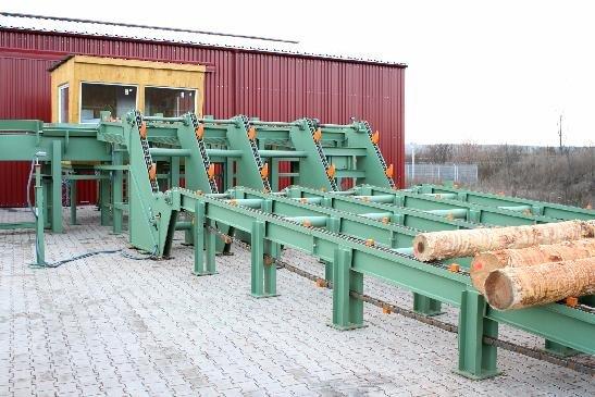 MS-MAschinenbau RSA Round Log Sorting