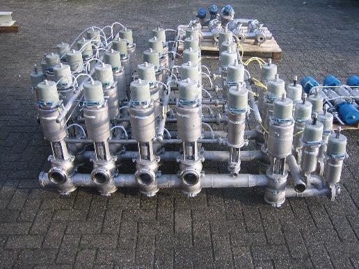 Tuchenhagen Varivent mixproof valvematrix in