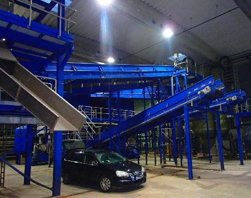 diverse conveyor belt system in