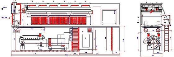 1996 SAB A122N Diesel generators