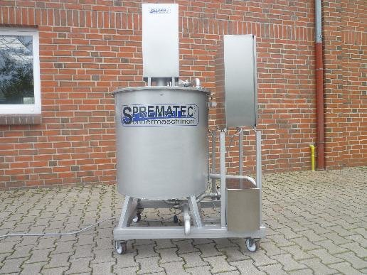 Coating mixer in Germany