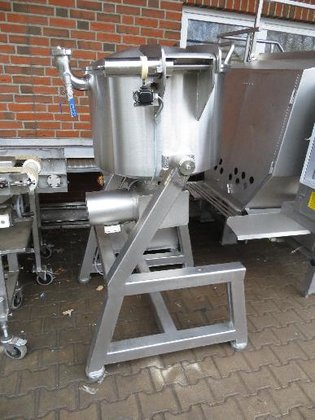 Stephan topple mixer in Germany